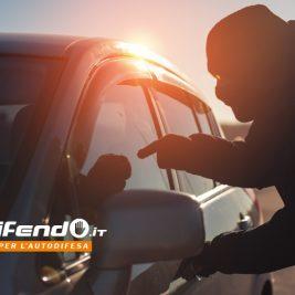 difendersi in auto dai tentativi di furto in macchina