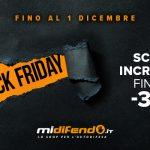 Prezzi scontati per il MiDifendo Black Friday 2019!