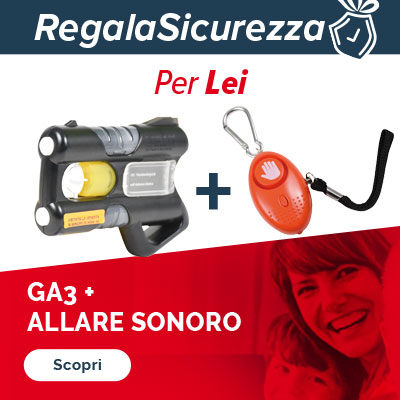 regala la sicurezza per lei